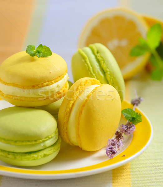 レモン ミント 伝統的な フランス語 食品 緑 ストックフォト © mady70