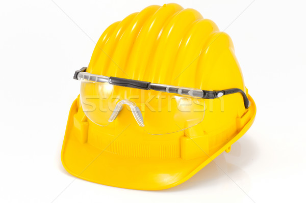 safety helmet and glasses Stock photo © mady70