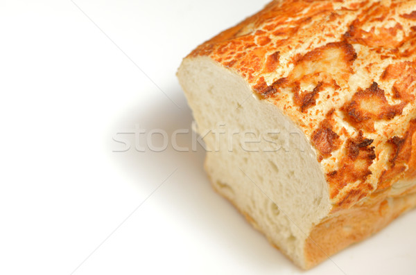 loaf of bread with an end sliced off Stock photo © mady70
