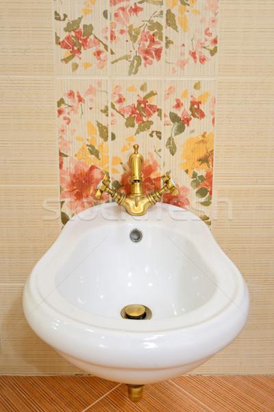 красивой водопроводной роскошный ванную зданий интерьер Сток-фото © mady70