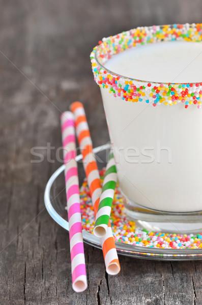 Glass of milk  Stock photo © mady70