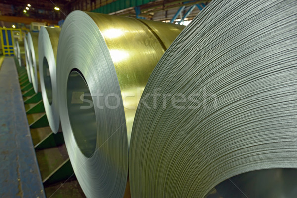 Cold rolled steel coils  Stock photo © mady70
