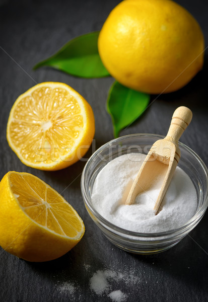 Cleaners with baking soda and lemon Stock photo © mady70