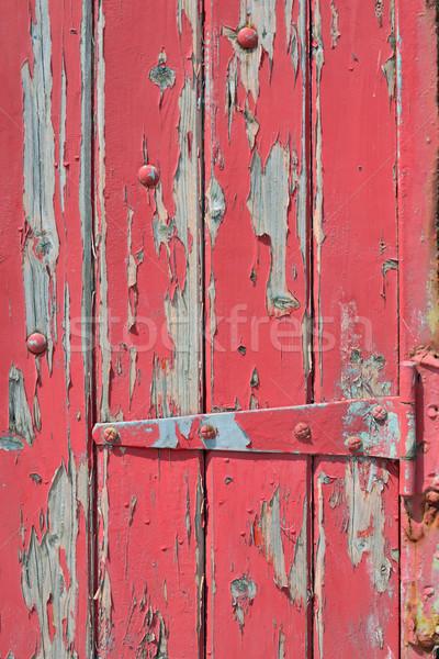 Velho rachado pintar textura Foto stock © mady70