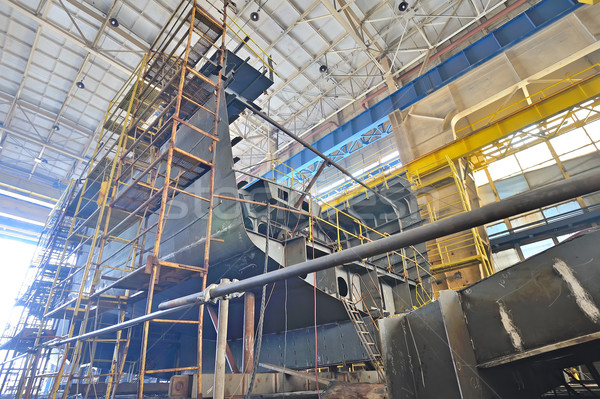 Stock photo: Ship building