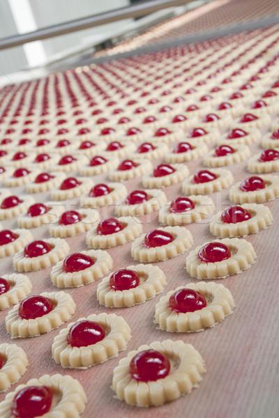 Stok fotoğraf: üretim · bisküvi · gıda · grup · ekmek · bitki