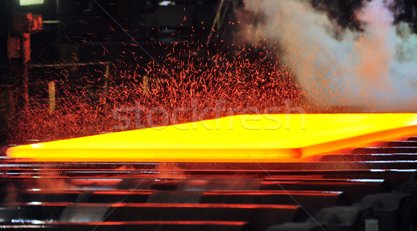ホット ミル ガス 金属 火災 ストックフォト © mady70
