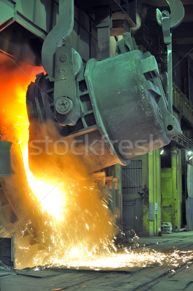 Working in a foundry Stock photo © mady70