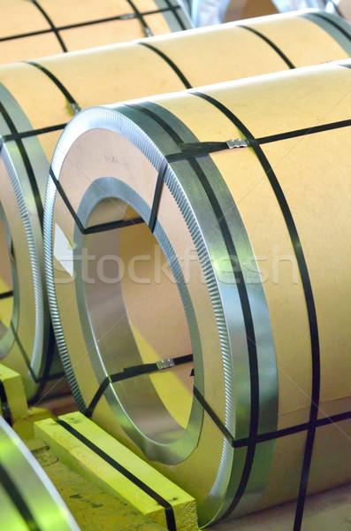 sheel rolls Stock photo © mady70