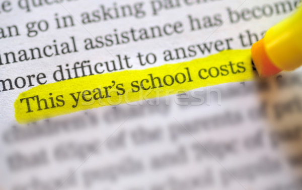 back to school  costs Stock photo © mady70