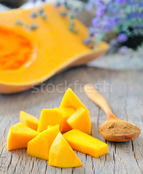 pumpkin slice for pie Stock photo © mady70