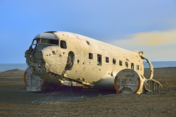 Wreck of an airplane  Stock photo © mady70