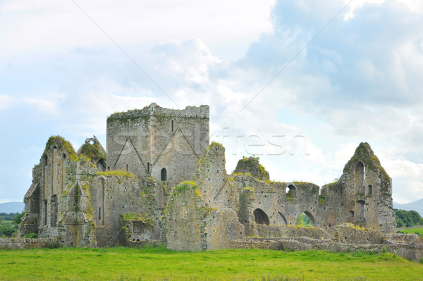 Stock photo: The Rock of Cashel- church