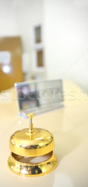 Foto stock: Hotel · recepção · negócio · escritório · reunião · telefone