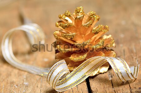 christmas tree of fir cone Stock photo © mady70