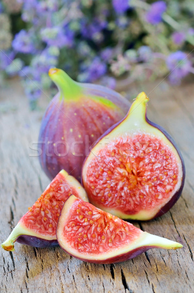 fresh figs isolated Stock photo © mady70
