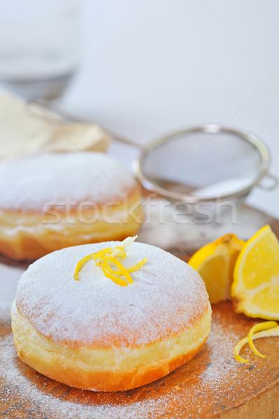 donut with lemon Stock photo © mady70