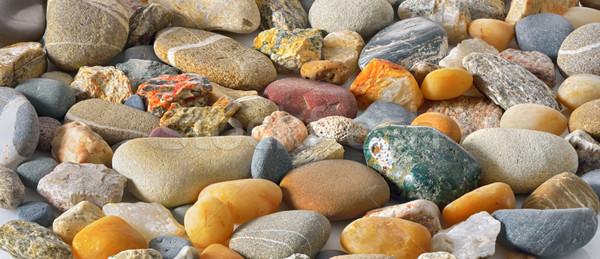 Sea stones background Stock photo © mady70