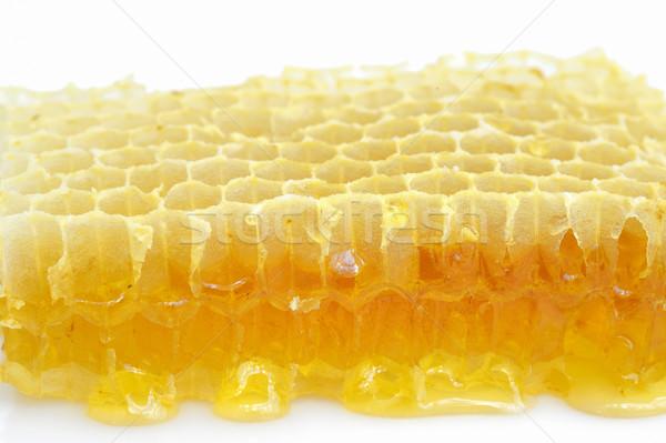 Geïsoleerd witte honing voedsel abstract natuur Stockfoto © mady70