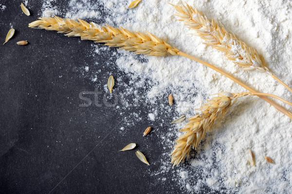 Inteiro farinha trigo orelhas comida Foto stock © mady70