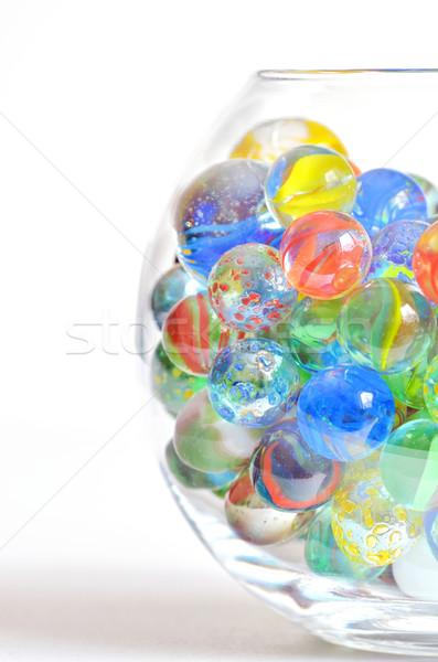 different glass balls Stock photo © mady70