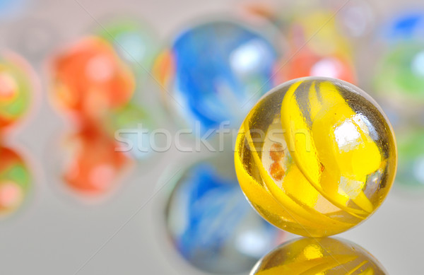 colored marbles Stock photo © mady70
