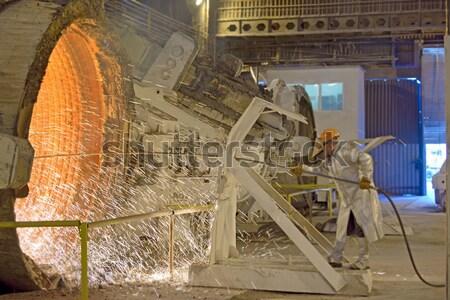 steel worker Stock photo © mady70