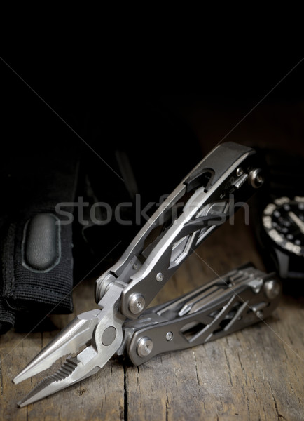 stainless steel multitool isolated Stock photo © mady70