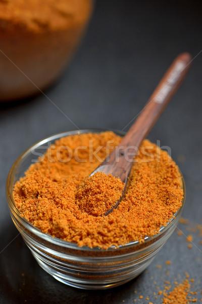 Kókuszpálma cukor asztal trópusi főzés szakács Stock fotó © mady70