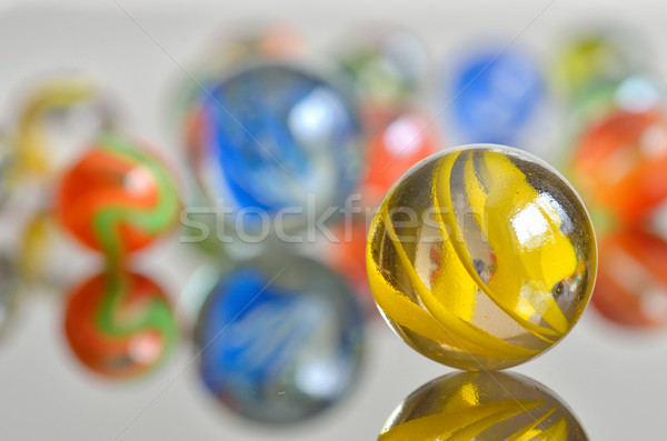 close up of a bunch of marbles Stock photo © mady70