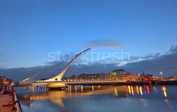 ストックフォト: 橋 · 1泊 · 時間 · 市 · 旅行 · 都市