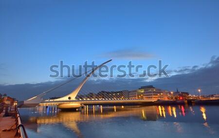 Сток-фото: моста · ночь · время · город · путешествия · городского