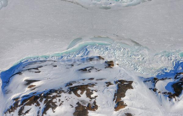 Greenland ice and land Stock photo © mady70