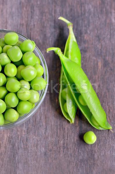 Fresh green pea pod  Stock photo © mady70