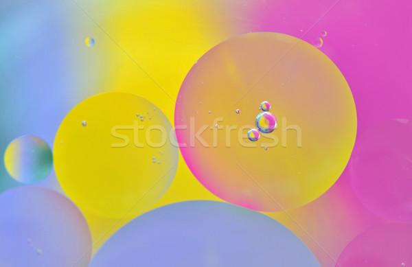 ストックフォト: カラフル · 泡 · 光 · 背景