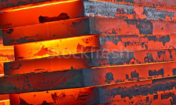 Hot slab inside of plant Stock photo © mady70