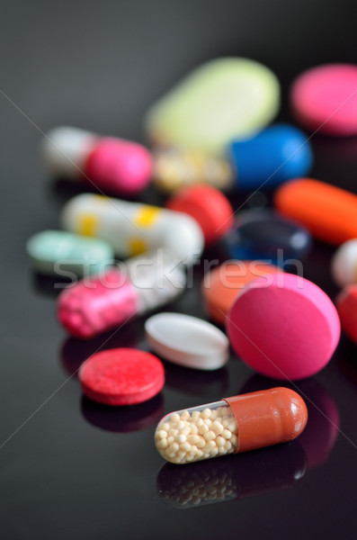 many different pills on table Stock photo © mady70