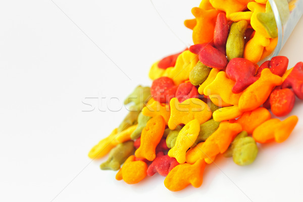 Salted  fish crackers Stock photo © mady70
