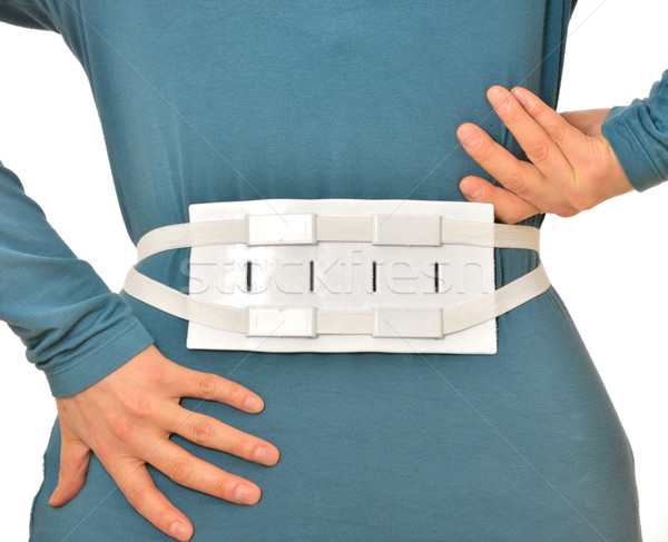 spine massage belt for hernia pain Stock photo © mady70