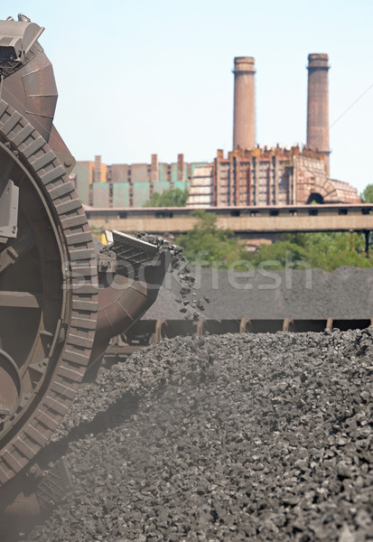 Stacker  coal exploration  Stock photo © mady70
