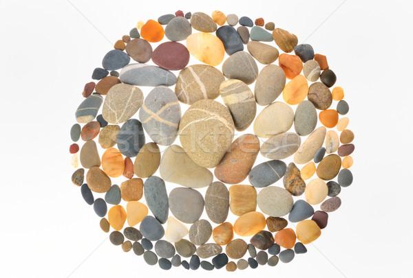 Quadro pedras naturalismo natureza pedra preto Foto stock © mady70