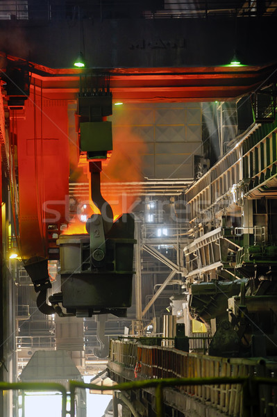 transportation of liquid metal Stock photo © mady70