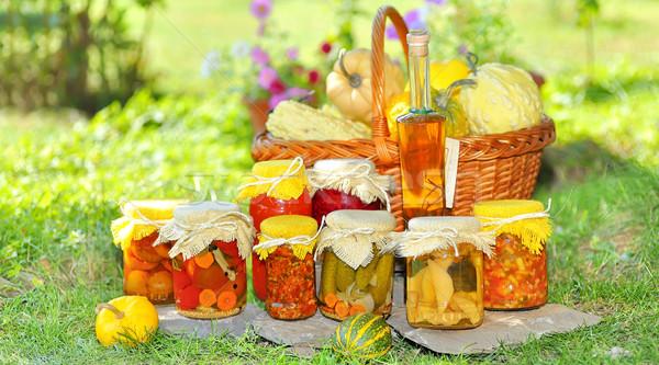 Vegetable preserves  Stock photo © mady70