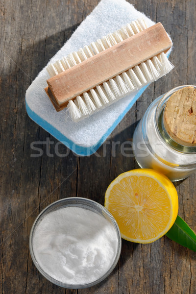 Szerszámok nátrium ház takarítás konyha zöld Stock fotó © mady70