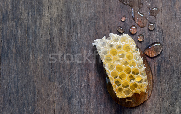 Doce mel isolado velho comida Foto stock © mady70