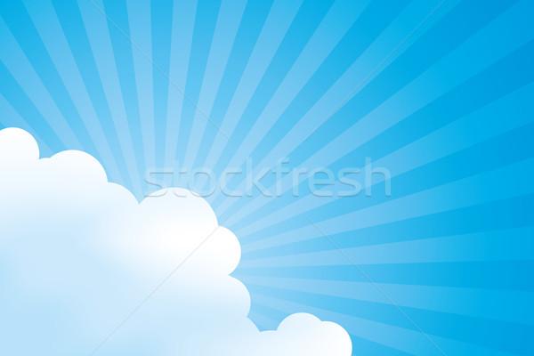 bright sun Stock photo © magann