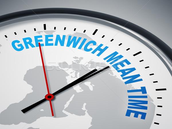 Greenwich Mean Time Stock photo © magann