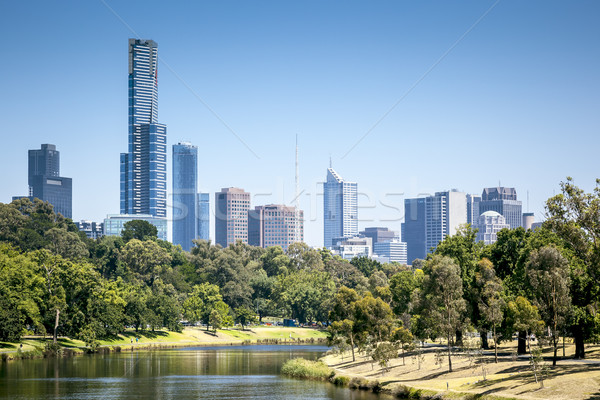 Melbourne Stock photo © magann