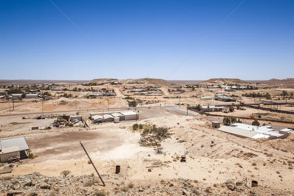 Sul da austrália imagem casa verão espaço verde Foto stock © magann