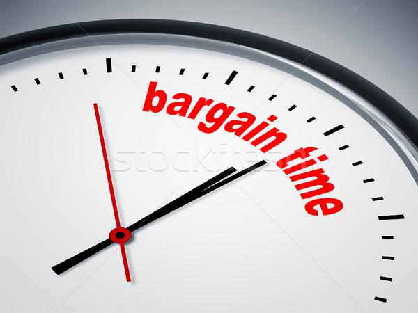 Alkalmi vétel idő kép szép óra üzlet Stock fotó © magann